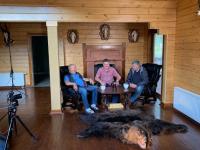 Телеканал «Охотник и рыболов» завершил в новгородских лесах съемки программы о медведе