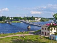 В субботу в Великом Новгороде перекроют движение по Волхову