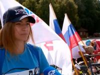 В Великом Новгороде День российского флага поддержали велопробегом