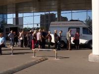 В Великом Новгороде работают мобильные пункты вакцинации от грядущего гриппа
