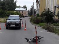 В Великом Новгороде сбили велосипедиста и подростка-нарушителя ПДД