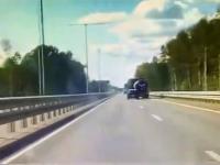 Видео с жуткими кувырками иномарки на М-11 попало в интернет, а его участники – в новгородские больницы