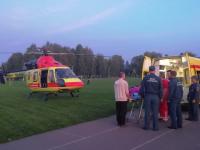 За несколько дней санавиация доставляет в НОКБ второго пациента из Старой Руссы