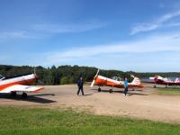 Залетевшая в Валдай пилотажная группа обещала вернуться