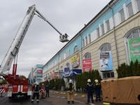 40 пожарных «спасали от огня» новгородский торговый центр «Волна»