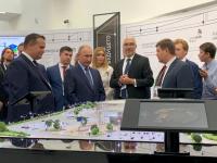 Андрей Никитин и Юрий Боровиков рассказали Владимиру Путину о реализации проекта НТШ