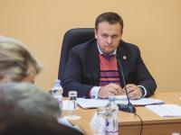 Андрей Никитин объяснил Сергею Бусурину, что будет, если детсад на Речной не построят в этом году