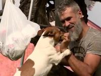 Блогеры-путешественики Руслан и пёс Рич добрались до Великого Новгорода