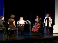 Для новгородских детей сыграл квартет солистов оркестра Юрия Башмета «Новая Россия»