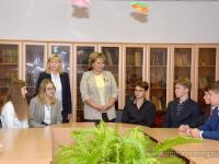 Елена Писарева провела Урок мира для старшеклассников гимназии «Новоскул»