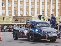 Финал Кубка РАФ по ралли на классических автомобилях в Великом Новгороде. Фоторепортаж