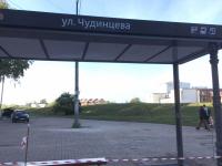 Фотофакт: в Великом Новгороде устанавливают «умную остановку»