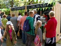 Гости фестиваля фермерской еды с удовольствием дегустировали натуральную продукцию СПК «Левочский»