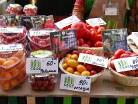 На фестивале фермерской еды Трубичинский тепличный комбинат представил яркие, вкусные и полезные «овощи родного края»
