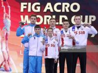 Новгородские акробаты вошли в тройку лучших в финале Кубка мира