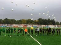 Новгородские футболисты почтили память погибших в Беслане и на Дубровке