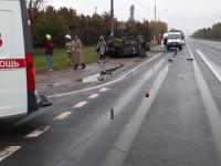 Пострадали четыре человека в ДТП на подъезде к Великому Новгороду