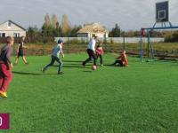 Футбольное поле появилось в деревне Медниково Старорусского района