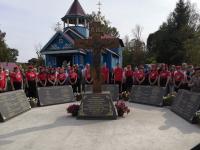 В Малой Вишере установили памятный крест с именами 183 священников
