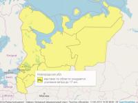 В Новгородской области ожидаются сильные ливни и ветер