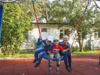 В новгородском реабилитационном центре открылся игровой парк