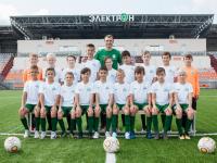 Юные новгородские футболисты сыграли против «Зенита»
