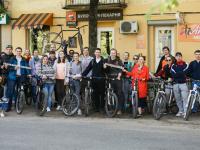 20 сентября новгородцы вновь смогут присоединиться к акции «На работу на велосипеде»