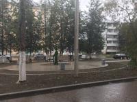 Жители Боровичей через два дня после обустройства сквера не досчитались пары скамеек