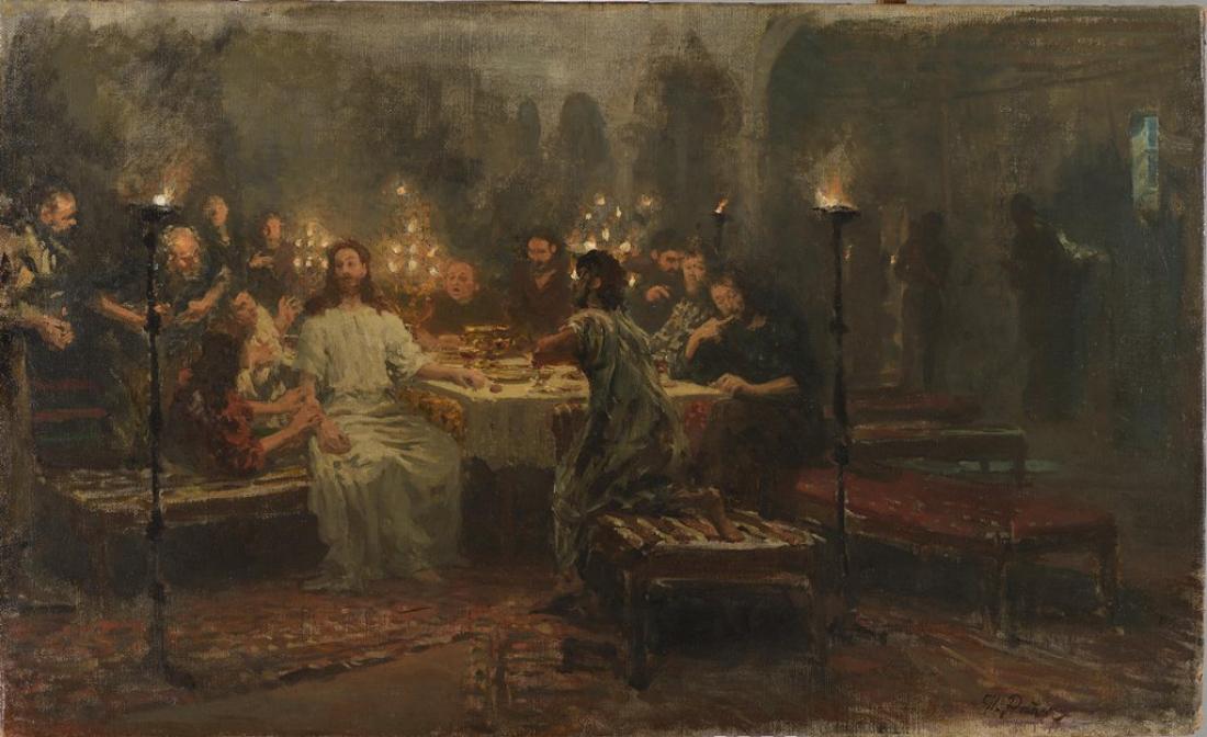 Картина Ильи Репина из новгородского собрания представлена на выставке в Русском музее