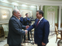 Александр Лукашенко и Андрей Никитин обсудили взаимовыгодное сотрудничество Беларуси и Новгородской области
