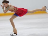 Анна Щербакова впервые в истории исполнила два четверных лутца и выиграла Skate America