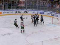 Матч в рамках КХЛ чуть не закончился трагедией