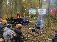 На месте падения самолёта Алексея Маресьева встретились московские и демянские школьники