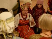 Сегодня в Великом Новгороде открылась выставка кружева. Фоторепортаж