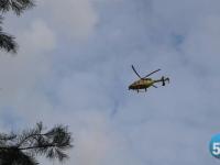 Сегодня вертолет санавиации доставил в Санкт-Петербург двух новгородских пациентов
