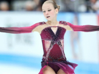 Трусова прыгнула четыре квада и опередила Загитову на соревнованиях в Японии