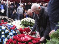 В Москве почтили память легендарного советского футбольного вратаря Льва Яшина