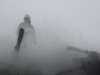 В Новгородской области горела баня на Острове