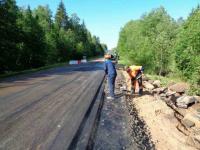 В Новгородской области продолжается ремонт дорог
