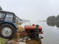 В валдайских озерах осваиваются новые жители – щурята