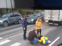 В Великом Новгороде на улице Псковской сбили школьницу