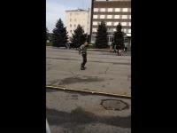 Великолучанин исполнил необычный танец и стал звездой интернета