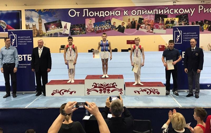 Новгородец стал одним из лучших среди гимнастов России