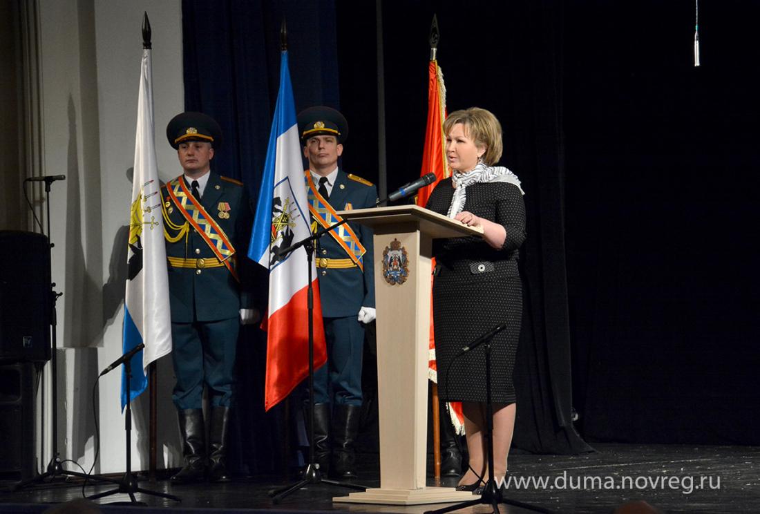 Елена Писарева предложила присвоить Боровичам почетное звание «Город трудовой доблести»