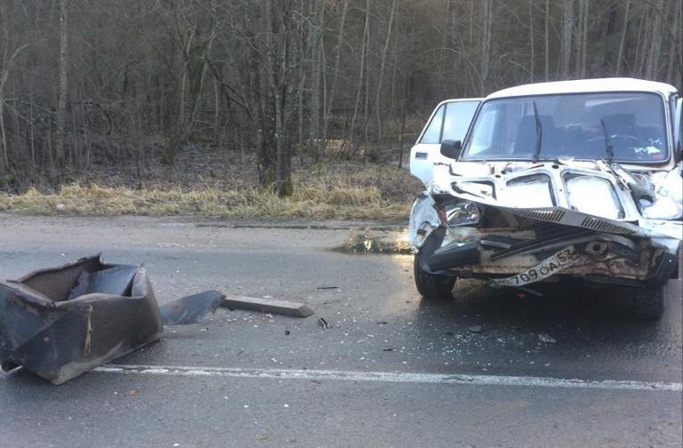 В Новгородской области в ДТП погиб пожилой мужчина