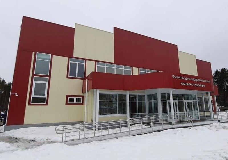 Андрей Никитин заявил о завершении строительства ФОКа в поселке Хвойная