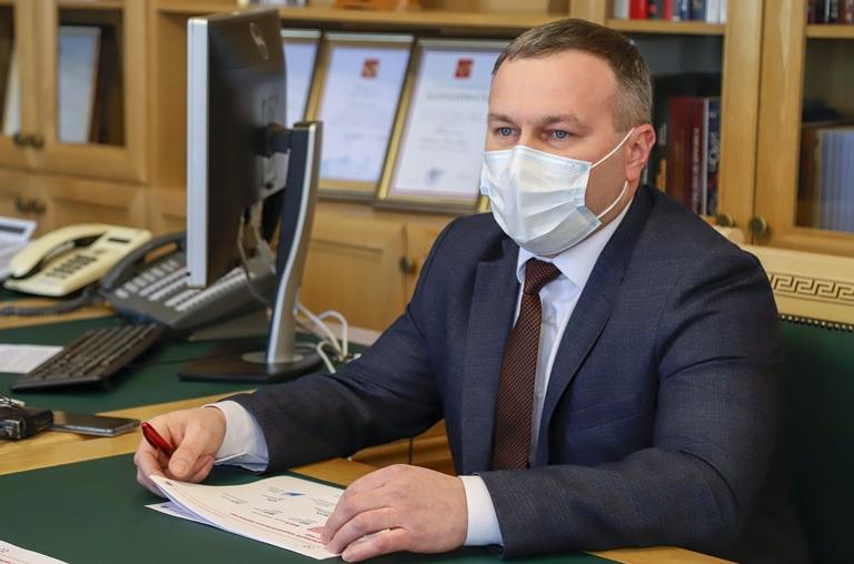 Сергей Бусурин на встрече с Андреем Никитиным попросил помощи из бюджета региона