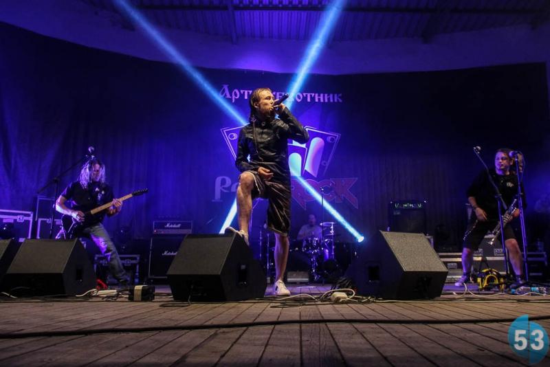 Группа F.P.G. из Нижнего Новгорода, играющая стрит-панк – хедлайнеры фестиваля
