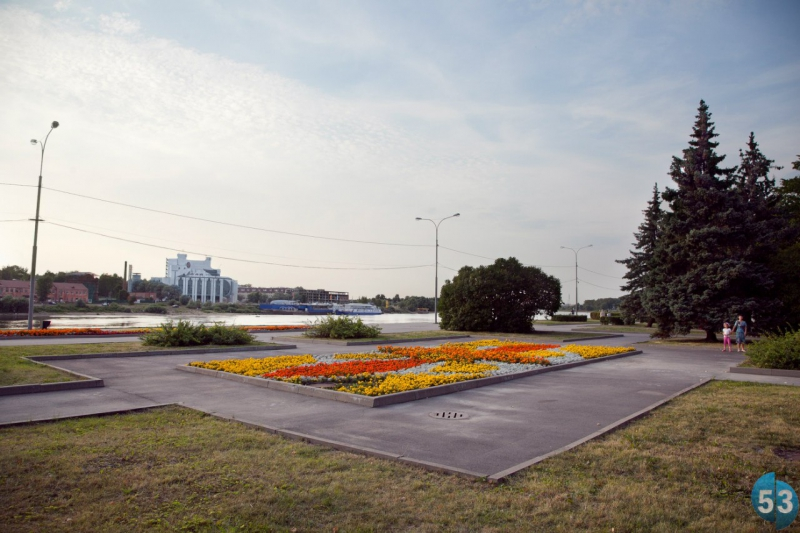 Вид набережной Александра Невского в настоящее время