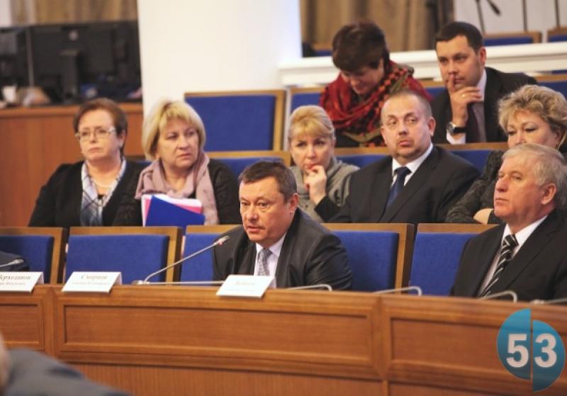 Заместитель губернатора области Александр Смирнов